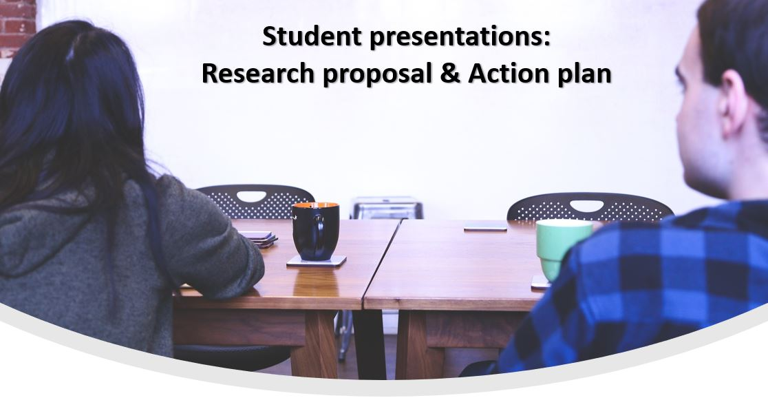 IB Business Management: Research proposal presentations
