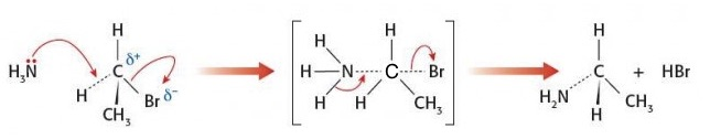 IB Chemistry: Nucleophilic substitution answers