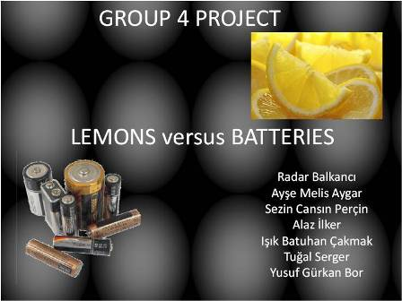 IB Chemistry: Group 4 Project