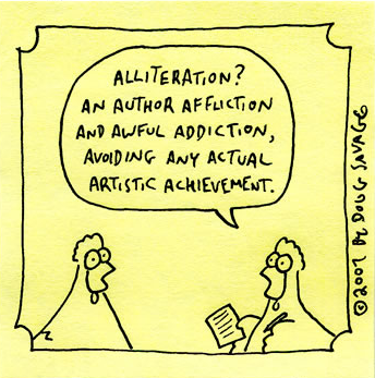 IB English A: Language & Literature: Alliteration