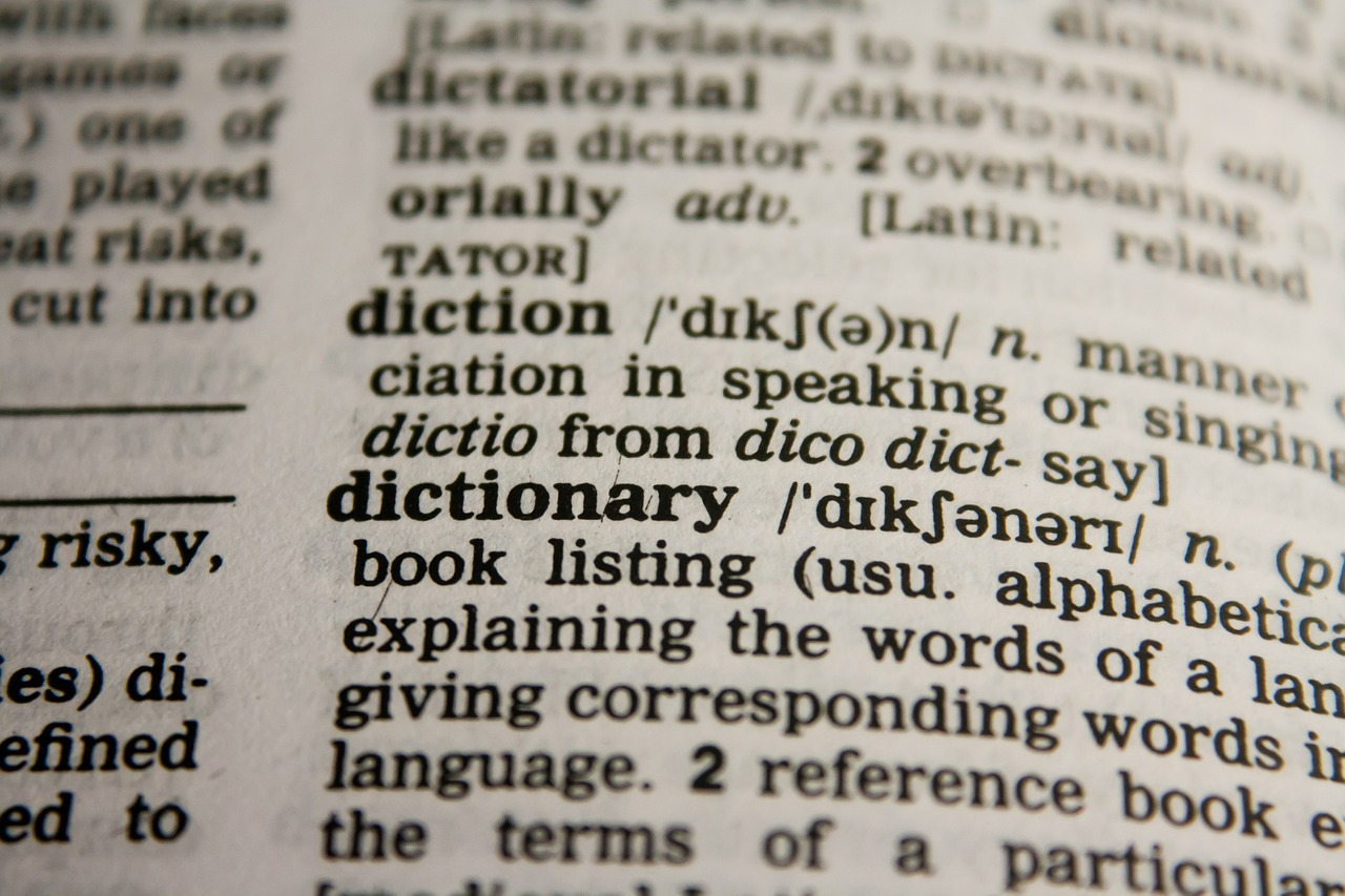 IB English A Literature: A lesson on diction