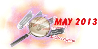 IB English B: May 2013, reviewed