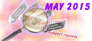 IB English B: May 2015, reviewed