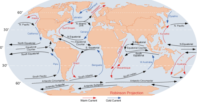 IB Environmental Systems & Societies: 4.1 Ocean Currents