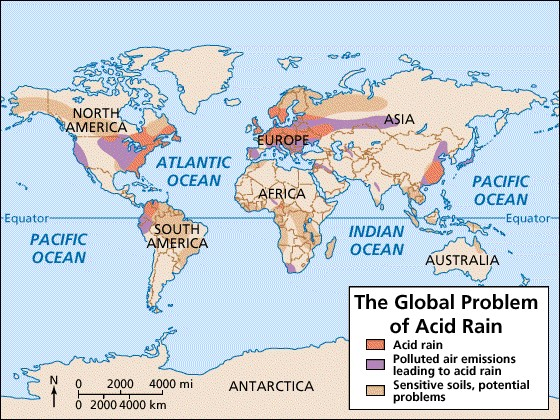 IB Environmental Systems & Societies: 6.4 Acid Deposition - A Review