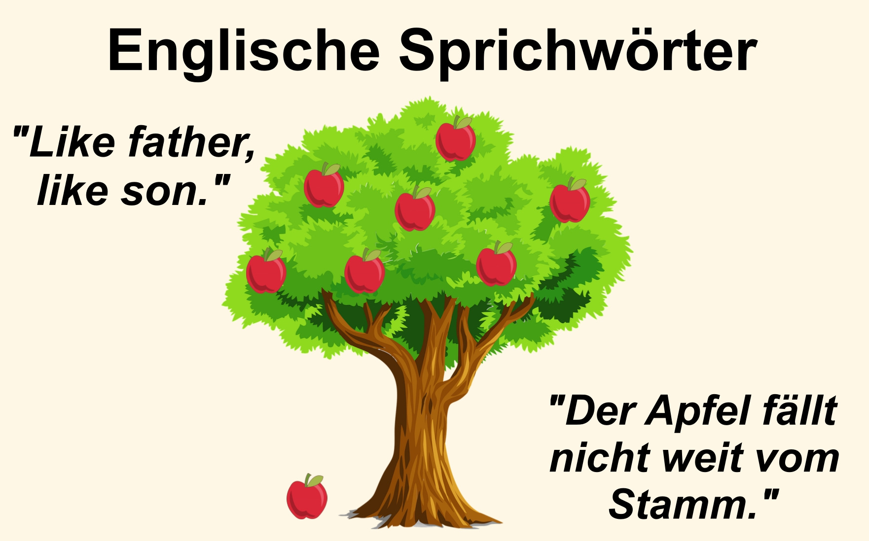 IB German A: Language & Literature: Sprichwörter