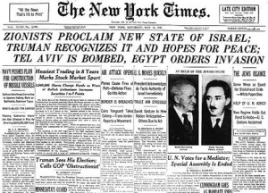 IB History: 1. Origins of the state of Israel