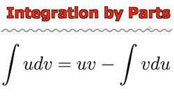 IB Maths: Analysis & Approaches: Integration by parts (tutorial)