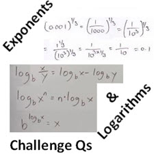 IB Maths: Analysis & Approaches: Exponents & Logarithms - Challenge Qs