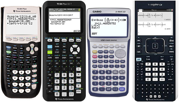 IB Maths: Analysis & Approaches: GDC comparisons