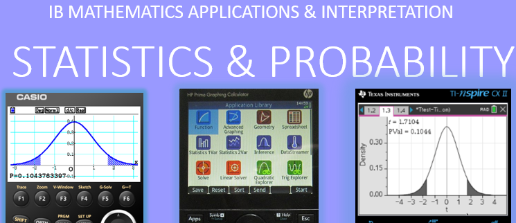 IB Maths Studies / Applications: Stats & Probability GDC