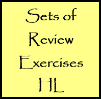 IB Maths HL & SL / Analysis: Sets of HL Review Exercises