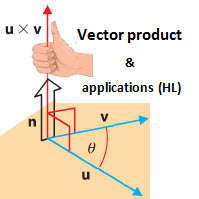 IB Maths HL & SL / Analysis: vector product & applications (HL)