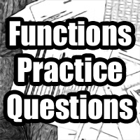 IB Maths Studies / Applications: Functions Practice