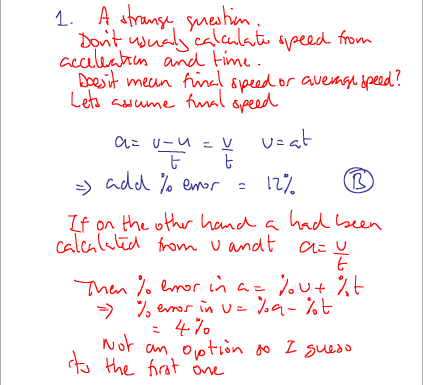 IB Physics: P1 May 2011 TZ2