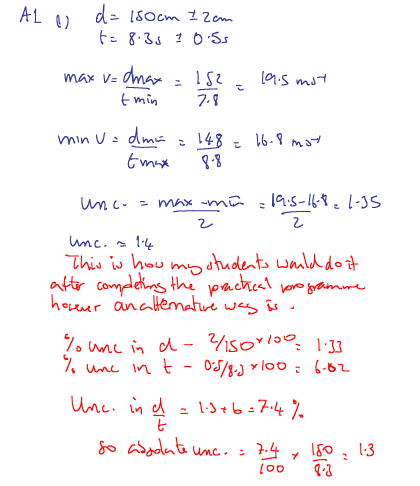 IB Physics: P2 Nov 2011