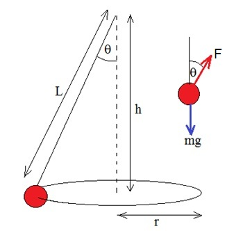 IB Physics: Optional Practical: The conical pendulum (copy)