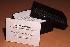 IB Visual Arts: Oblique Strategies