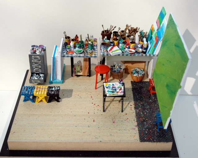 IB Visual Arts: Miniature Studios
